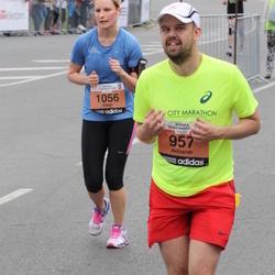 24. Nordea Riia maraton - Aelxandr Riabtsev (957), Daiga Grunte-Sonne (1056)