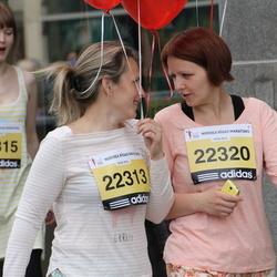 24. Nordea Riia maraton - Sarmīte Onukrāne (22313), Agnese Kocere (22320)