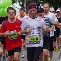 24. Nordea Riia maraton - Aleksis Orlovs (2020), Harijs Āboliņš (4760)