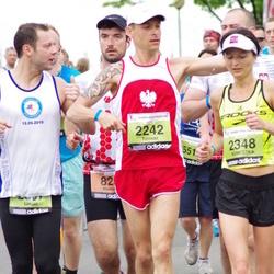 24. Nordea Riia maraton - Tomasz Biesiada (2242), Agnieszka Biesiada (2348)