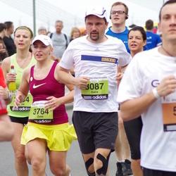 24. Nordea Riia maraton - Gatis Jansons (3087), Zane Rambaka (3764)