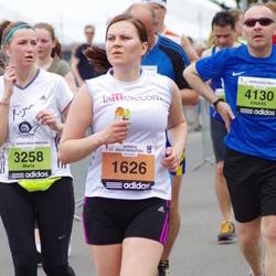 24. Nordea Riia maraton - Agra Lieģe (1626), M?ria Sokolovskaya (3258), Einārs Abrickis (4130)