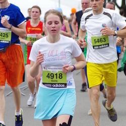 24. Nordea Riia maraton - Guna Plakane (4918), Aigars Vidiņš (5463)