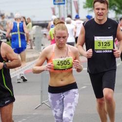 24. Nordea Riia maraton - Gatis Madžiņš (3125), Daiga Grickus (4505)