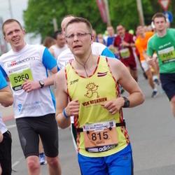 24. Nordea Riia maraton - Gatis Kveders (815), Rolands Porietis (5260)