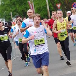 24. Nordea Riia maraton - Agris Saulgriezis (4342), Rūdolfs Bērziņš (4449)