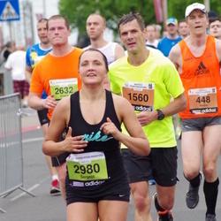 24. Nordea Riia maraton - Andis Malējs (448), Ivo Smiltnieks (1560), Andris Petrevics (2632), Sergejs Labors (2980)