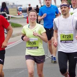24. Nordea Riia maraton - Anete Bauere (2536), Janeks Bauers (4725)