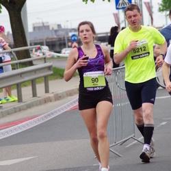 24. Nordea Riia maraton - Alise Gaidule (90), Jānis Biernis (5212)