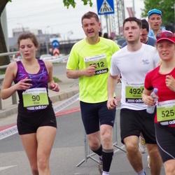 24. Nordea Riia maraton - Alise Gaidule (90), Nicolas Pietryga (4924), Jānis Biernis (5212)
