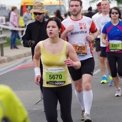 24. Nordea Riia maraton - Ainārs Kumpiņš (1250), Inga Ķelpe (5670)