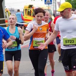 24. Nordea Riia maraton - Skirmante Dapkute (2856), Sanita Raviņa (3834), Adomas Petrulevicius (5723)
