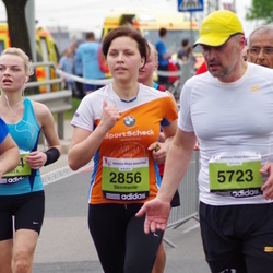 24. Nordea Riia maraton - Skirmante Dapkute (2856), Adomas Petrulevicius (5723)
