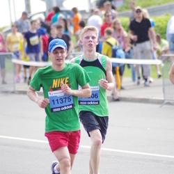 24. Nordea Riia maraton - Emīls Kvālis (11206), Kārlis Menģelis (11375)
