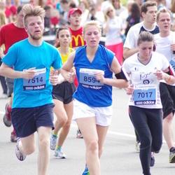 24. Nordea Riia maraton - Elena Bulakhova (7017), Jānis Bukšs (7514), Anna Rinkmane (8594)
