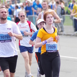 24. Nordea Riia maraton - Natalia Bokhonova (7929), Agris Aurmanis (10707)
