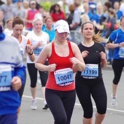 24. Nordea Riia maraton - Agnese Zuševica (10041), Iveta Sproģe (11199)