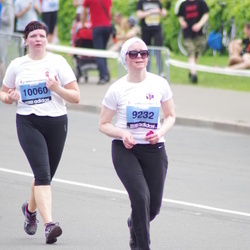 24. Nordea Riia maraton - Aļona Čigaka (9232), Jana Dukure (10060)