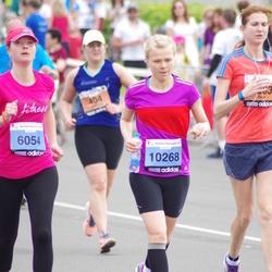 24. Nordea Riia maraton - Aija Alpa (6054), Kristīne Sprice (10268)