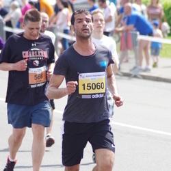 The 24th Nordea Riga marathon - Jurgis Guscius (566), Karim Gouglou (15060)