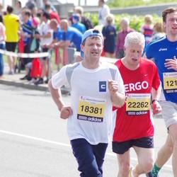 The 24th Nordea Riga marathon - Ivars Jansons (18381), Algimantas Stučka (22262)