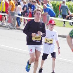 24. Nordea Riia maraton - Valērijs Dziemidovs (14670), Adams Aleksandrs Soini (21270)