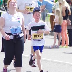 The 24th Nordea Riga marathon - Lilita Logina (7657), Tomass Alksniņš (18365)