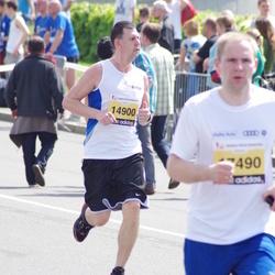 The 24th Nordea Riga marathon - Aleksejs Sopins (14900)