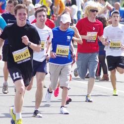 The 24th Nordea Riga marathon - Nikolajs Lazarevs (15801), Krista Purmale (20147)
