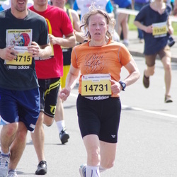 The 24th Nordea Riga marathon - Susanne Burkhardt (14731)