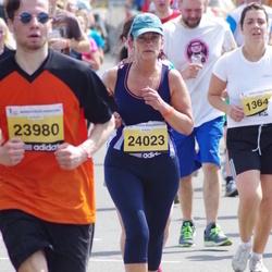 The 24th Nordea Riga marathon - Ginta Pūce (24023)