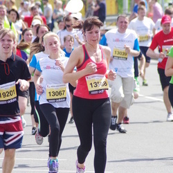 The 24th Nordea Riga marathon - Kristīne Bahtina-Strautāre (13067), Ilva Blūma (13568)