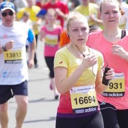 The 24th Nordea Riga marathon - Jana Šveca (16694), Linda Helmane (21931)