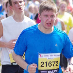 The 24th Nordea Riga marathon - Aleksandrs Proživaļskis (21672)