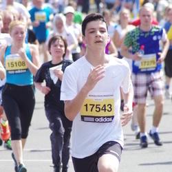 The 24th Nordea Riga marathon - Rendijs Lejiņš (17543)