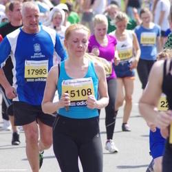 The 24th Nordea Riga marathon - Inga Junolainena-Cālmane (15108)