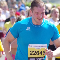 The 24th Nordea Riga marathon - Andris Kluss (22649)