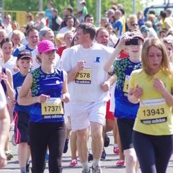 The 24th Nordea Riga marathon - Madara Kreile (17371), Uldis Are (17578)
