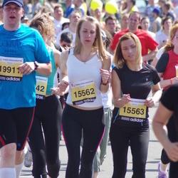 The 24th Nordea Riga marathon - Egija Kūla (15562), Līva Rulle (15563)
