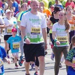 24. Nordea Riia maraton - Mārtiņš Priževoits (15286), Aija Reinikova (16900)