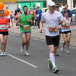 24. Nordea Riia maraton - Aigars Kokins (738), Tatjana Baranovska (1627), Andrejs Konstantīns (1640)