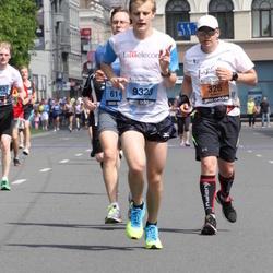 24. Nordea Riia maraton - Fabrizio Fréderic (326), Denis Stolobkovs (9323)