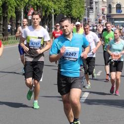 24. Nordea Riia maraton - Patriks Strazdiņš (6757), Ervīns Veics (8247)