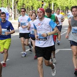 24. Nordea Riia maraton - Raimonds Juška (7391), Ēriks Buivids (9421), Aleksis Muižnieks (11046)