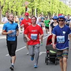 24. Nordea Riia maraton - Ervīns Horsts (7197), Clemens Wittmann (7751), Aleksejs Šuktomovs (10390)