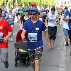 24. Nordea Riia maraton - Ervīns Horsts (7197), Arturs Pošers (8778), Aleksejs Šuktomovs (10390)