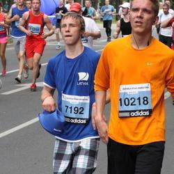 24. Nordea Riia maraton - Agris Seikals (7192), Gints Ručevskis (10218)