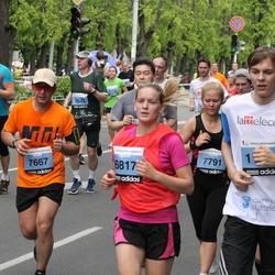24. Nordea Riia maraton - Ieva Aleksa (6817), Jānis Mangalis (7667), Anete Pujate (7791)