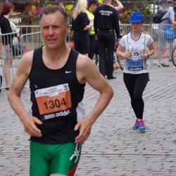 The 24th Nordea Riga marathon - Sergejs Zykov (1304), Anastasija Krūmiņa (7931)