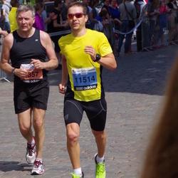 The 24th Nordea Riga marathon - Artūras Tamašauskis (1357), Roberts Lukša (11514)